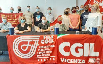 A Vicenza il nuovo segretario dei lavoratori trasporti e logistica: è Filippo Rossi (FILT)