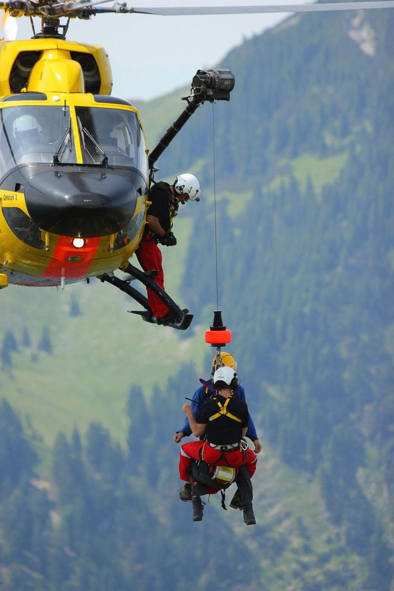 Sette interventi di soccorso sulle Dolomiti venete