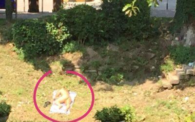 Spiaggia nudista a Vicenza sul fiume Retrone