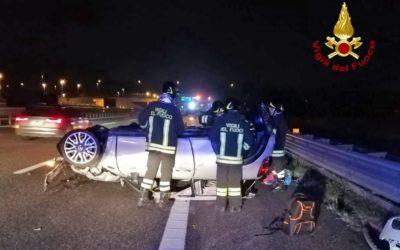 In A4 a Vicenza tamponamento tra 3 auto