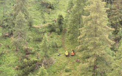 Interventi del Soccorso Alpino: si perde alle pendici del Rite e frattura sotto il Pelmo