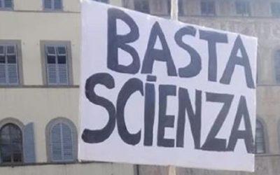 """""""Basta scienza"""" proprio no, forse più prudenza e responsabilità per tutti  [VIDEO]"""