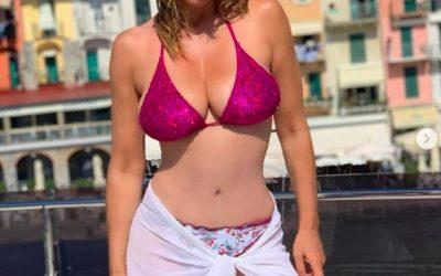 "La ""veneta"" Sabrina Salerno manda in tilt i socialnetwork"