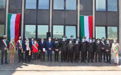 Presentati ai Sindaci i nuovi marescialli che entrano in servizio nelle stazioni dei carabinieri del Vicentino