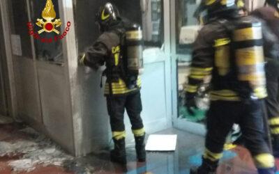 A fuoco ufficio in conceria: indagini in corso