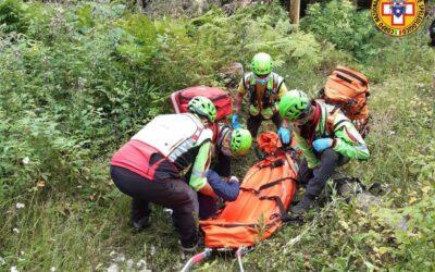 Scivola nel bosco scendendo dal Verena: soccorsa 55enne