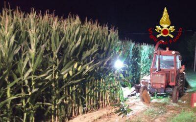 Incidente sul lavoro: grave agricoltore con la gamba nella fresa del trattore