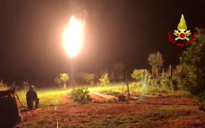 Bombolone di GPL perde gas nel Padovano: interviene il nucleo NBCR di Mestre [VIDEO]