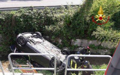 Fuori strada con l'auto: muore 71enne di Romano d'Ezzelino