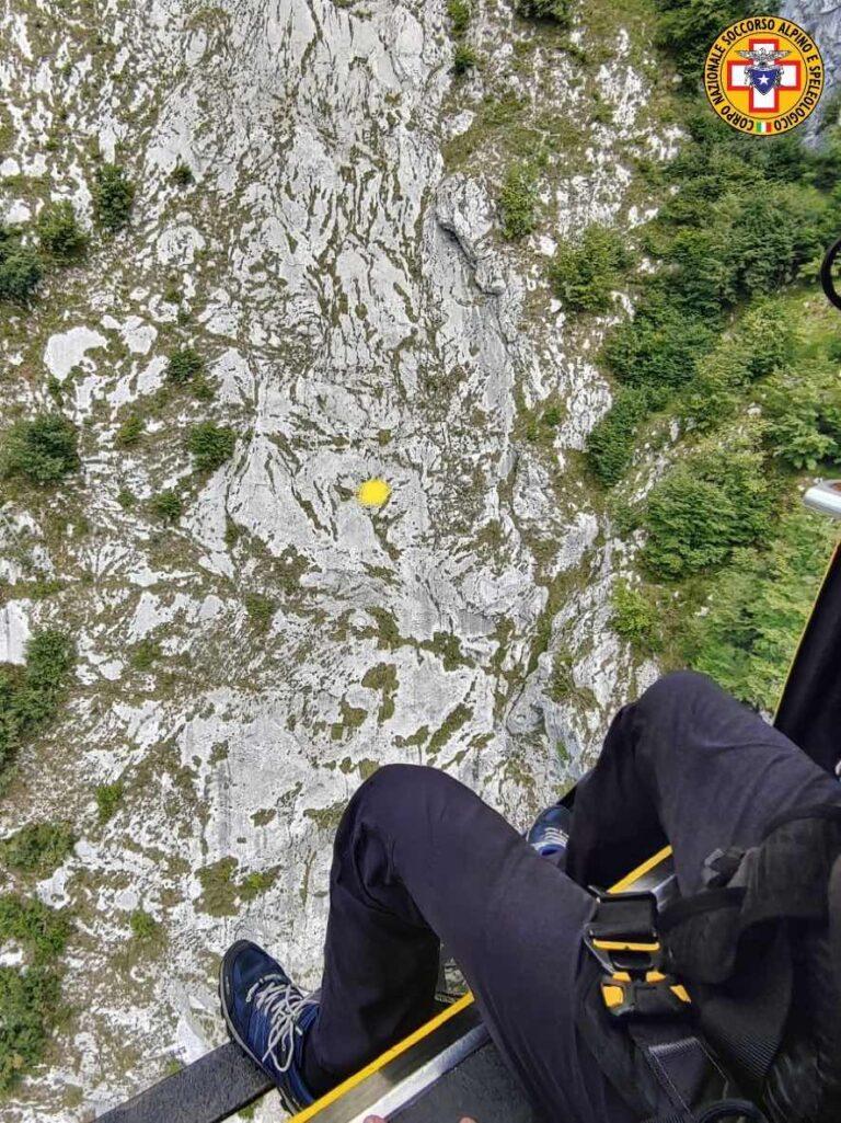 Escursionista del Lussemburgo precipita e muore sul Dolada