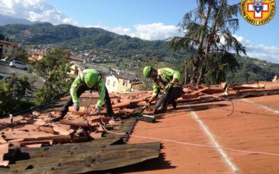 Maltempo, il Soccorso alpino ripristina i tetti