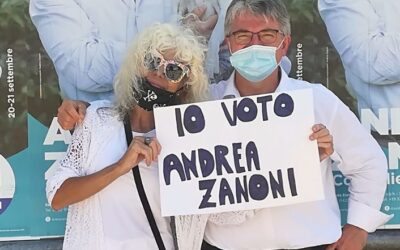 "Donatella Rettore rende ""splendido splendente"" Andrea Zanoni [VIDEO]"