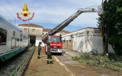 Veneto battuto dal maltempo: quasi 200 interventi