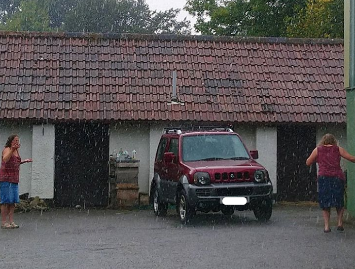 Vigilia di Ferragosto con forti temporali
