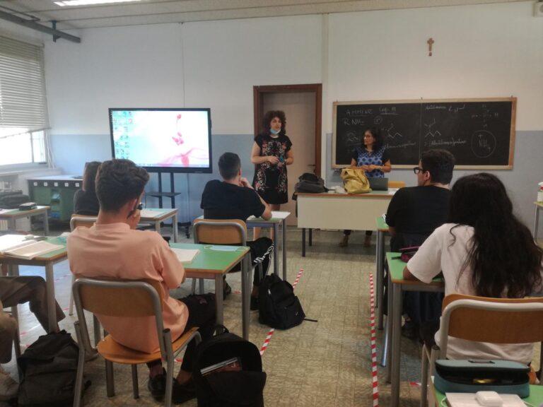 A scuola anche al Galilei di Arzignano nonostante i danni del maltempo