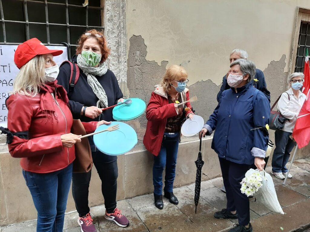 flash mob per Ipab Vicenza