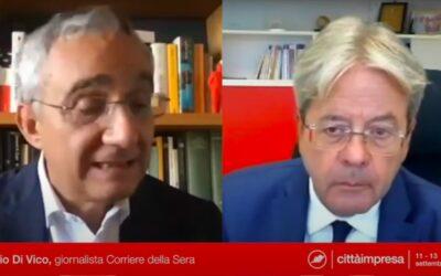 Festival Città Impresa: Gentiloni, Bonino e Prodi in collegamento con Vicenza [VIDEO]
