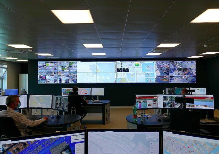 Al Tronchetto la Smart Control Room, come se Venezia fosse su Sim City