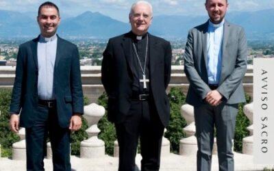 Due nuovi sacerdoti per la Diocesi di Vicenza