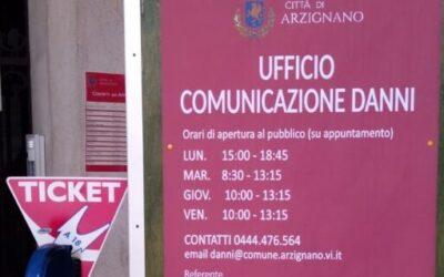 Maltempo, aperto ufficio danni ad Arzignano