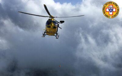 Tanti interventi sulle Dolomiti di Cortina sabato 24 luglio 2021 per il soccorso alpino