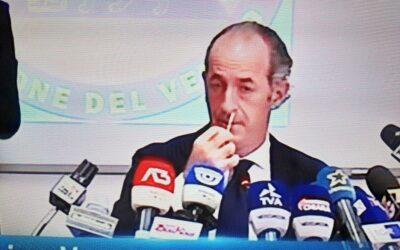 """Covid-19 – Il Veneto """"inventa"""" il test fai-da-te: Zaia se lo fa in diretta televisiva!"""