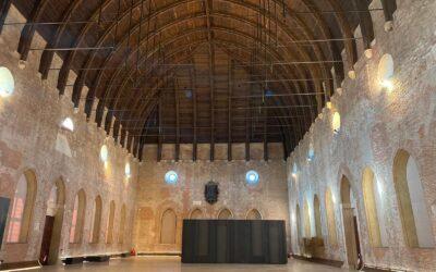 Allestimento del CUBO in Basilica Palladiana con Art Bonus e Cereal Docks