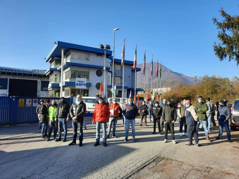 Sciopero alla ASFO di Chiuppano: 130 lavoratori attendono risposte!