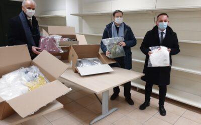 SINV di Schio dona 500mila euro in vestiario alla Caritas diocesana