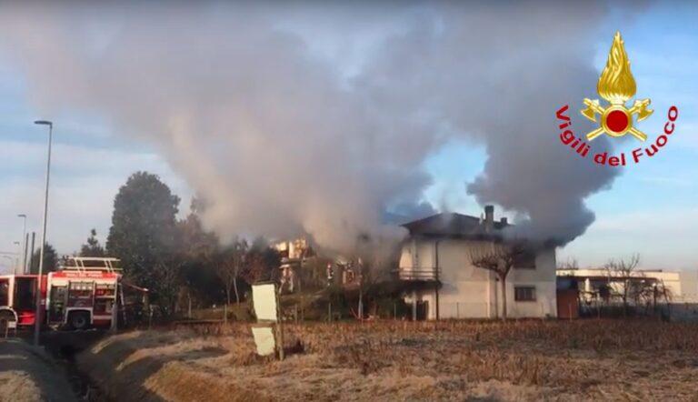 Due morti nell'esplosione di una villetta a San Giorgio in Bosco [VIDEO]