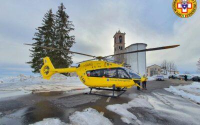 Due interventi di soccorso con l'elicottero a Selva di Progno