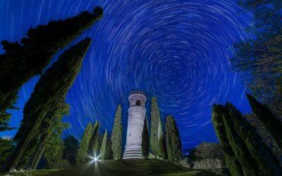 """A Romano d'Ezzelino un cielo """"divino"""" per la torre di Dante"""
