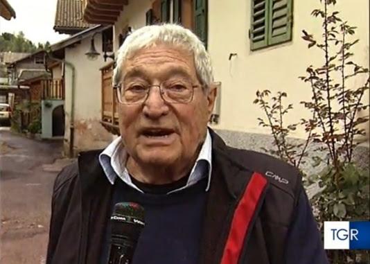 Addio a Nino Vascon, fra i primi cronisti ad arrivare dopo la tragedia del Vajont