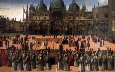 Oggi moriva nel 1507 Gentile Bellini, pittore, fratello di Giovanni