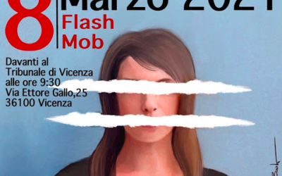 8 marzo: potere alla cura, potere alle donne – Flash mob a Vicenza