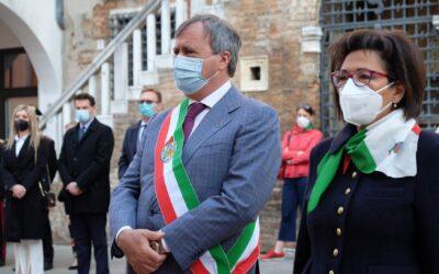 """LIBERAZIONE e SAN MARCO a Venezia – Brugnaro: """"Lo spirito e il coraggio della Resistenza per uscire dalla pandemia!"""" [VIDEO]"""