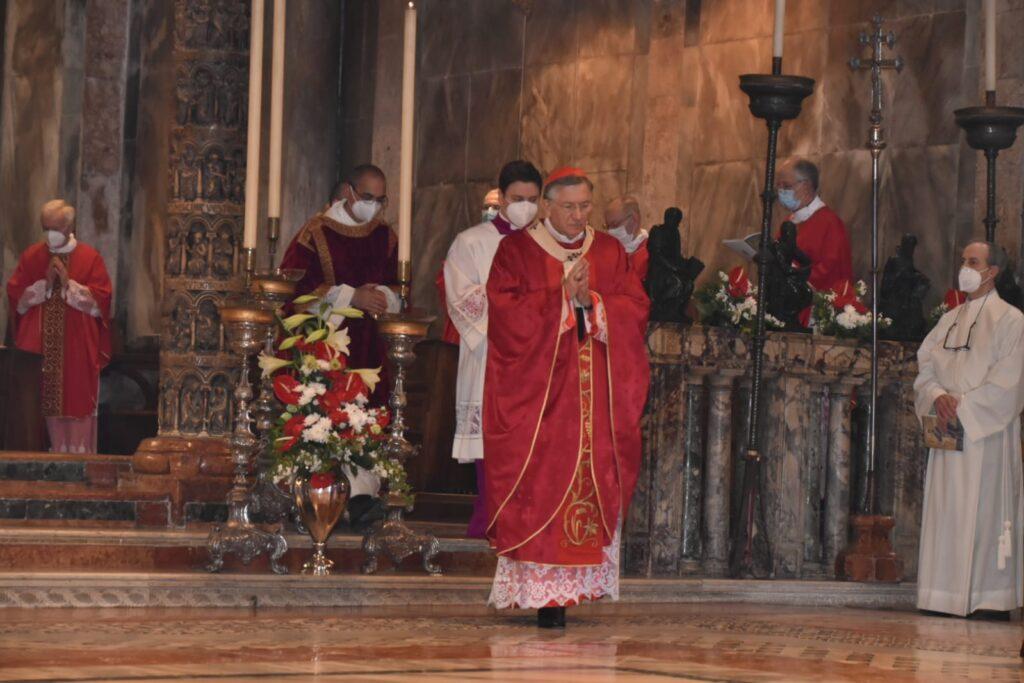 cardinale Moraglia sab marco 2021