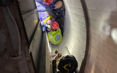 Bimba di 6 anni cade nella tromba dell'ascensore  del centro commerciale