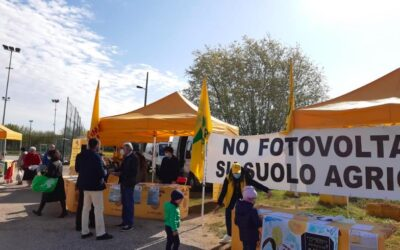 """Coldiretti – Al via la raccolta firme """"No fotovoltaico a terra"""""""