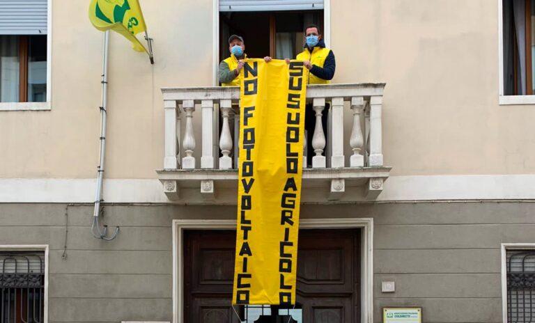 """No fotovoltaico a terra – Coldiretti: """"I cittadini debbono sapere"""""""