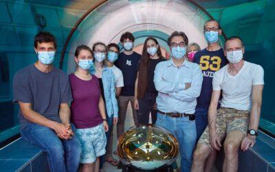 Testato nella piscina termale più profonda del mondo il rivelatore di neutrini JUNO