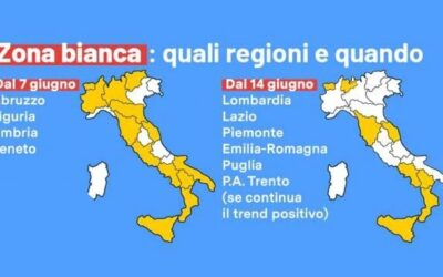 Da oggi, lunedì 7 giugno , il Veneto e il FVG sono in zona bianca: cosa si può fare?