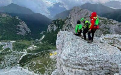 Morto l'alpinista precipitato sul Lagazuoi