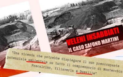 Veleni insabbiati: il 14 settembre a Dueville la video inchiesta inedita sul caso Safond-Martini