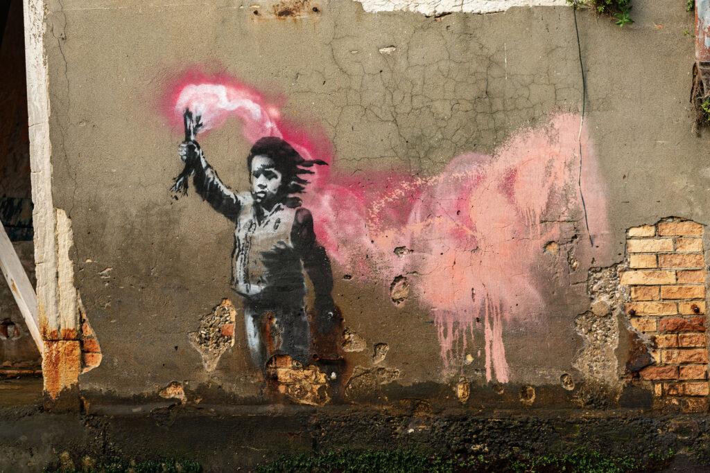 Banksy a San Pantalon Venezia